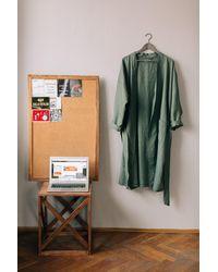 Etsy Robe Vert Bouteille - Blanc