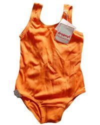 Etsy Maillot De Bain Orange Des Années 70