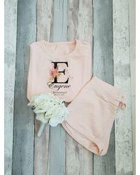 Etsy Bride Personalised Pyjama Set - Multicolour