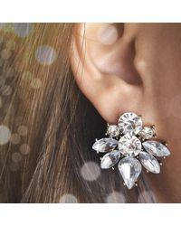 Etsy Cluster Earrings - Multicolor