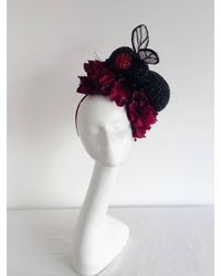 Etsy Kentucky Derby Hat - Red