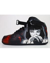 """Etsy Ull Custom Nike Air Force 1 """"Pulp Fiction Theme - Multicolore"""