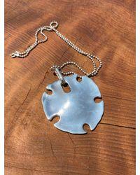 Etsy - Robert Lee Morris Sterling Silver Sand Dollar Necklace - Lyst