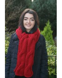 Etsy Scarf - Red