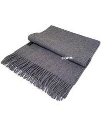 Etsy Gfm 100% Wool Warm Autumn Winter Sca - Grey