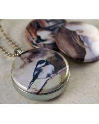 Etsy Chickadee Jewelry - Blue