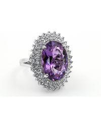 Etsy Ladies Amethyst Rind 10 - Purple