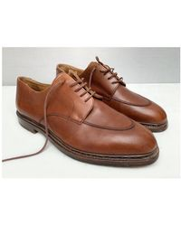 Etsy Paraboots Vintage s Lacés Oxfords Shoes/Made in France Paraboots Chaussures Formelles - Marron