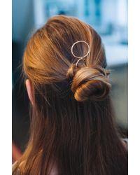 Etsy Metal Hair Clips - Metallic