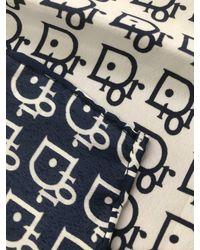 Etsy Genuine Vintage Christian Dior Silk Scarf - Blue