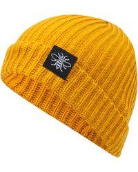 Etsy Manchester Bee Mustard Fisherman Trawler Beanie - Yellow