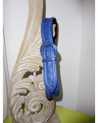 Etsy Ceinture Vintage En Cui - Bleu