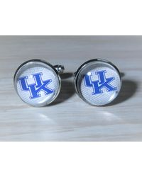 Etsy College Of Kentucky Wildcats Cufflinks Made From Football Cards - Black