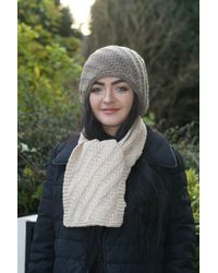 Etsy Scarf Cashmere - Natural
