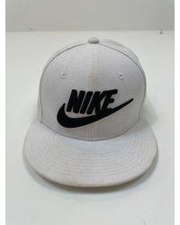 Etsy Nike Swoosh Snapback Cap White One