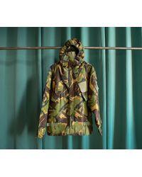 Etsy Parka Militaire Armée Britannique Vintage Motif Camouflage - Vert