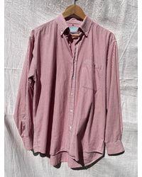 Etsy Weyburn Chemises Vintage Rouge Et Blanc Rayé Style Chimiste Col