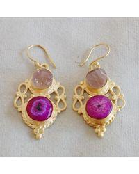 Etsy Handcrafted Earrings - Metallic