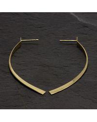 Etsy 14k Gold Dangle Earrings - Metallic