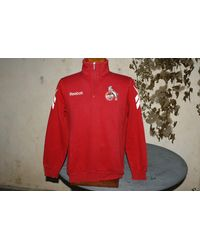 Etsy Sweatshirt Reebok Fc Köln Entrainement - Rouge