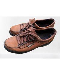 Etsy Chaussures En Cuir Brun e Daim Vintage Baskets Mephistom - Marron