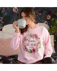 Etsy The Bride Sweatshirt - Pink