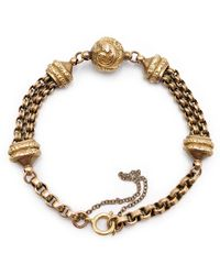 Etsy Antique 14k Victorian Bracelet Etruscan Revival 9 - Metallic