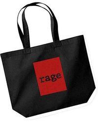 Etsy Rage Against The Machine Shopper Bag - Grey