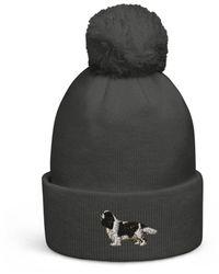 Etsy Pom-pom Beanie Hat - Multicolour