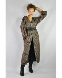 Etsy Wool Coat - Red