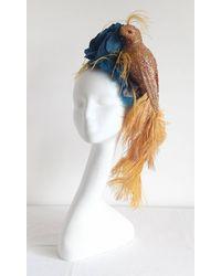 Etsy Kentucky Derby Hat - Blue