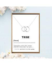 Etsy - Tribe Necklace Friendship - Lyst