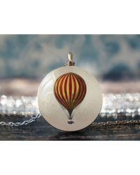 Etsy Hot Air Balloon - Metallic