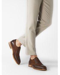 Etsy Chaussures Oxford Markaroli En Cuir Marron