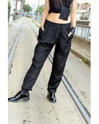 Etsy New Collection Linen Pants/Pantalon Noir Élégant Casual En Linge Avec Poches