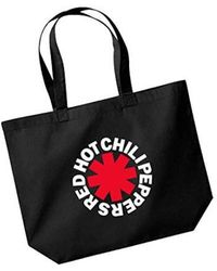 Etsy Red Hot Chili Peppers Shopper Bag