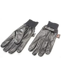 Etsy Leather Driving Gloves - Black
