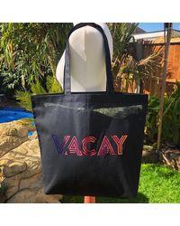 Etsy Vacay T-shirt Jumper Hoody Sweatshirt Shopping Tote Bag Can Be Personalised Any Colour Holiday - Green