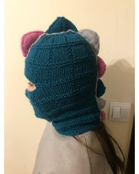 Etsy Hand Knitted Dino Hat - Green