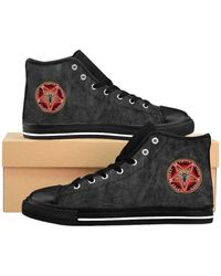 Etsy Satanic 'S High-Top Sneakers - Noir