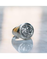 Etsy Jaguar Ring For - Metallic
