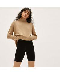 Everlane Cashmere Square Turtleneck Sweater - Multicolor