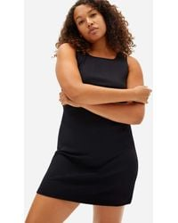 """Everlane """"party Of One"""" Tank Dress - Black"""