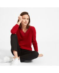 Everlane | The Cashmere V-neck | Lyst