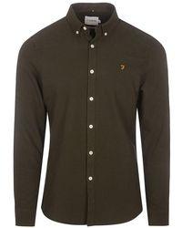 Farah - Brewer Slim Fit Shirt - Lyst