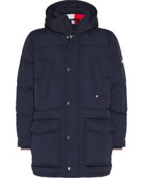 Tommy Hilfiger - Down Hooded Parka - Lyst