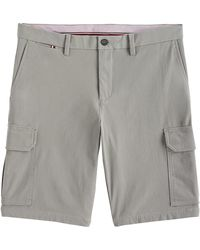 Tommy Hilfiger Tailored Cargo Shorts - Grey