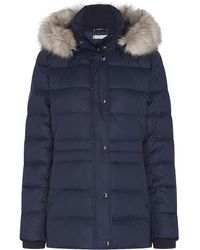 Tommy Hilfiger Essential Tyra Down Coat - Blue