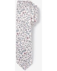 Express Narrow Micro Floral Tie - Multicolor