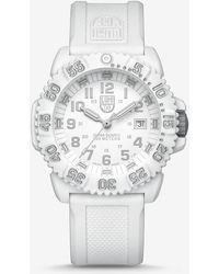 Express - Luminox White Colormark Watch - Lyst